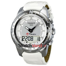 Tissot T-Touch II Multi-Function Titanium Ladies Watch T0472204608600