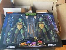 NECA Teenage Mutant Ninja Turtles TMNT 2-Pack Leonardo and Donatello
