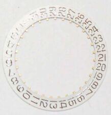 Date-Disc per ETA 2502, 2622, 2724, 2752, 2772, 2789, 2790 piegato 3 Orologio NOS ~ ~