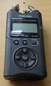 TASCAM DR-40 V2 4-Track Digital Audio Recorder