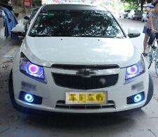 Bumper Fog Light COB Source Angel Eye Lamp DRL k For Chevrolet Cruze 2010-2013