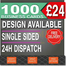 More details for 1000 business cards printed, full colour, 24-48h dispatch