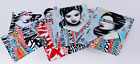 HUSH Faces I II Print Box Set - 2 Prints 4 Vinyl Sticker Sheets whatson eaton