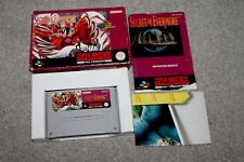 Super Nintendo - Secret of Evermore - Snes - Complete - Boxed + Manual + MAP