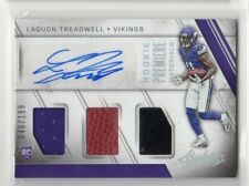2016 Panini Absolute Rookie Premiere Laquon Treadwell RC Triple Jersey Auto /199