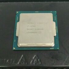 Intel Core i7-6700 3.4GHz CPU LGA 1151 SR2BT Quad Core Processor