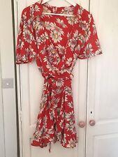 ASOS Floral Wrap Dress 18