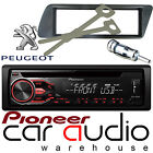 Peugeot 306 Pioneer CD MP3 USB AUX Amber Car Stereo Radio Player & Fitting Kit