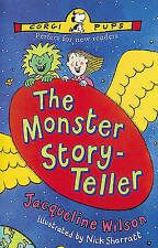 The Monster Story-teller by Jacqueline Wilson (Paperback, 1997)