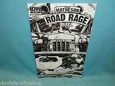Road Rage #4 Retailer Incentive Variant Comic 1st Print IDW Richard Matheson VF