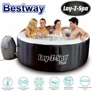 Bestway Lay-Z Spa Inflatable Spa Outdoor Portable Airjet Massage Bath Pool New
