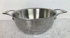 All-Clad Stainless With D5  5 1/2 Qt Dutch Oven