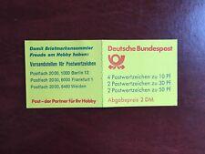 GERMANY BRD FRD BOOKLET MNH DEUTSCHE BUNDESPOST 2 DM YELLOW