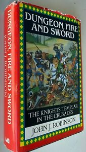 1994 1st DUNGEON, FIRE AND SWORD, John Robinson, crusades hardcover FREE post AU