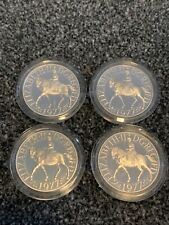 More details for 4 1977 silver crowns. all the same. .925 silver