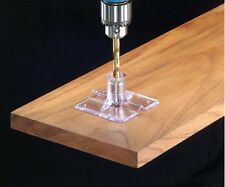 """Centering Drill Guide Jig Fixture 3/16"""" 1/4"""" 5/16"""" 3/8"""" 7/16"""" 1/2"""" Bushings New"""