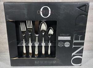 Oneida Otello 62 Pc. Ultra Premium Stainless Steel Flatware Set