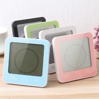 LCD Digital Wall Clock Digital Bathroom Waterproof Shower Clock Timer/Temp TK