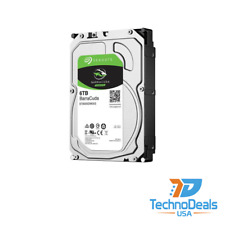 "Seagate Barracuda 6To 3,5"" SATA III Disque Dur Interne (ST6000DM003)"