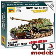 1/100 German Tank Destroyer FERDINAND - Zvezda 6195