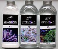 ATI Essentials Set 3 x 1000ml Mineralien Spurenelemente Meerwasser 9,63€/L