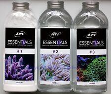 ATI Essentials Set 3 x 1000ml Mineralien Spurenelemente Meerwasser 9,63?/L