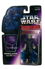 STAR WARS SHADOWS OF THE EMPIRE PRINCE XIZOR WITH ENERGY BLADES SHIELDS KENNER