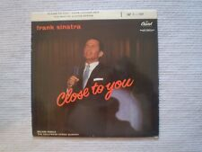 "FRANK SINATRA ""CLOSE TO YOU"" VG+/VG+ 7"" CAPITOL EAP1-789 [Fr Mfg] 45rpm Hi-Fi"