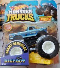 Set 4X Ruote 4X Wheels Fireston Bigfoot GREENLIGHT 1:18 GREEN13546 Model