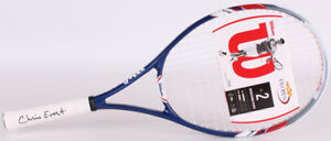 Chris Evert Signed Wilson Full Size U.S. Open Tennis Racket (MAB)