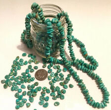 20 Turquoise BEADS Campo Frio Nugget NATURAL Drilled Genuine Polished Gemstone