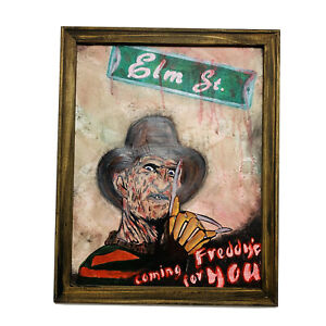 "Freddy Krueger Nightmare On Elm Street Horror Movie Gift Wall Art 16x20"" ONAK"