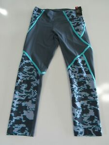 Under Armour Womens Edgelit Cropped Leggings Large 1348022-044 Nwt