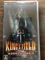 King's Field Additional I Sony PSP FROM SOFTWARE Japanese Version