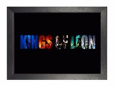 Kings of Leon 4 American Rock Music Legend Band Poster Caleb Followill Photo