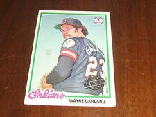 2015 Topps Original Buyback Wayne Garland - 1978 Cleveland Indians