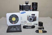 Samsung NX300 20.3 MP (Black) w/18-55mm III OIS Lens _ BOX + Extras_ MINT Cond