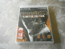 ps3 bulletstorm limited edition.new sealed.cover in polish