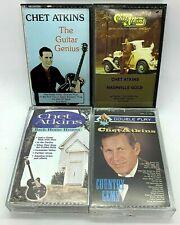 Chet Atkins Cassette Tapes Audio Excellent Condition & Tested Lot of 4