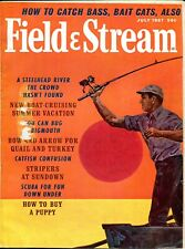 Vintage Field & Stream July 1967 - Cover Artist Don Stivers