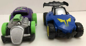 Fisher Price The Joker & Batman Shake 'n Go Car Vehicles DC Super Friends