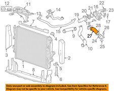JAGUAR OEM 06-08 S-Type 4.2L-V8 Emission-Feed Line AJ811767