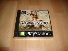 Vagrant Story by Square Soft for Sony PS1 Factory English Screentext