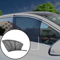 2Pcs Car Front Window Sun Visor Shade Mesh Cover Shield Sunshade UV Protector