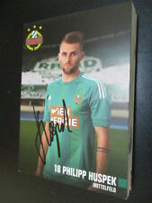61049 Philipp Huspek Rapid Wien original signierte Autogrammkarte