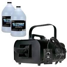 American DJ VF Flurry Snow Machine Flake Effect Remote + 2 Gallons Fluid/Juice