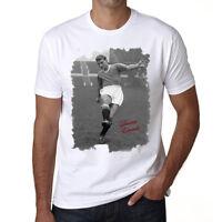 Duncan Edwards t shirt homme, Manches Courtes, Coton blanc cadeau