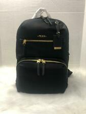 NEW TUMI HALLE BACK PACK  BLACK GOLD HARDWARE