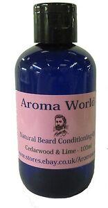Natural Beard Oil - Cedarwood & Patchouli - 100ml