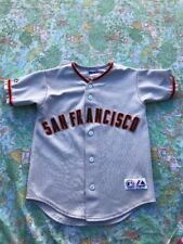 Tim Lincecum San Francisco Giants Sewn Majestic  Jersey Youth S USA Made Pro